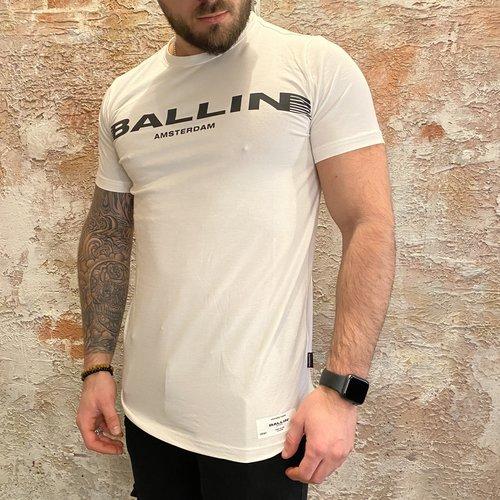 Ballin Amsterdam Printed chest off white