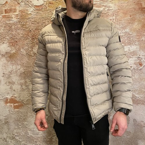 Airforce Padded hooded silver sage