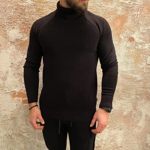 Solid Coltrui regular fit black