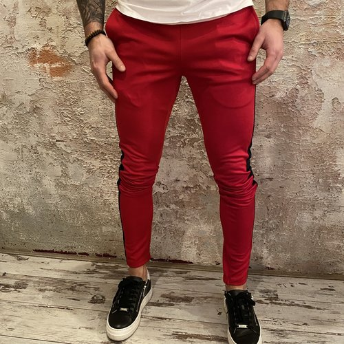 Radical Trackpant Red Blue