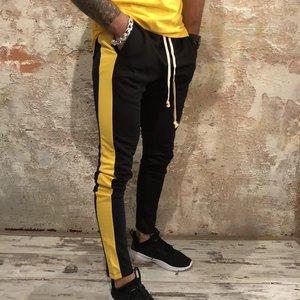Radical Trackpant Black yellow