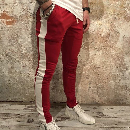 Radical Trackpant Red white