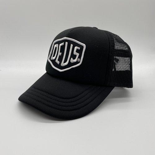 Deus Cap Baylands Trucker black/white