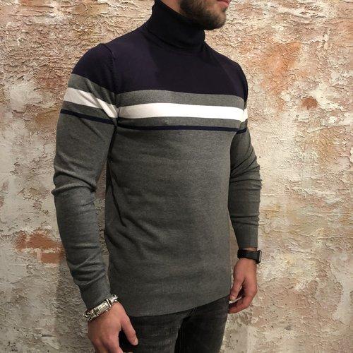Antony Morato Coltrui grijs blauw