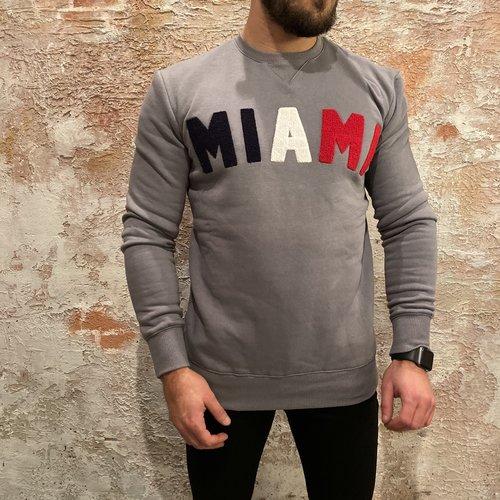 Xplct Miami sweater grey