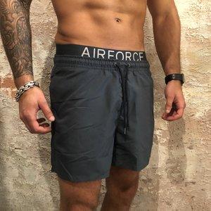Airforce Swimshort waistband blue