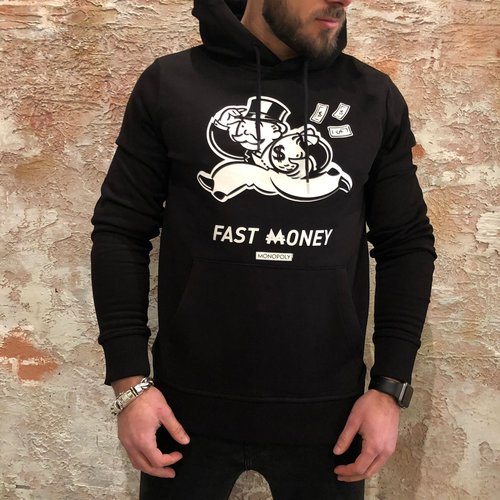 Purewhite Monopoly hoodie black