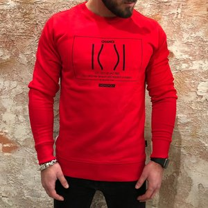 Purewhite Monopoly change sweater red