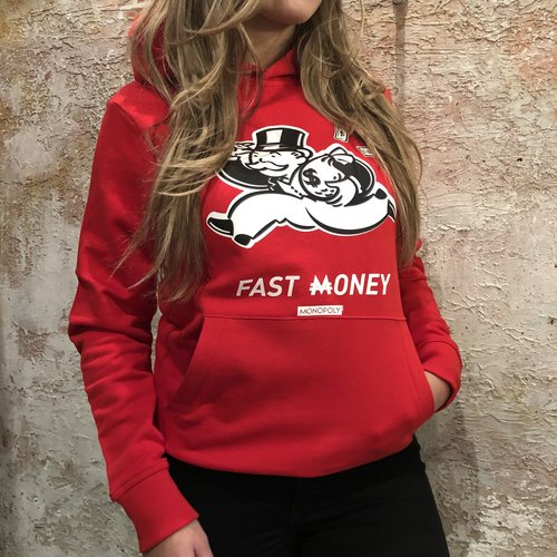 Purewhite Monopoly hoodie Red