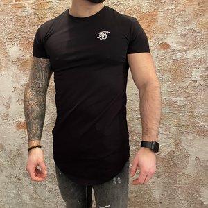 SikSilk Short Sleeve Gym tee Black