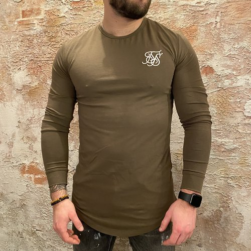 SikSilk Long Sleeve Green