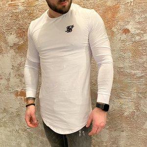 SikSilk Long Sleeve White