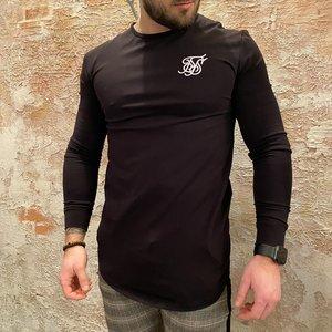 SikSilk Long Sleeve Black