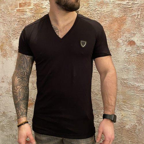 Antony Morato Vneck t-shirt black