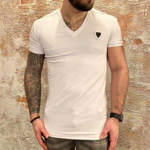 Antony Morato Vneck t-shirt white