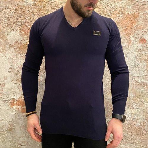 Antony Morato Stretch pullover blue