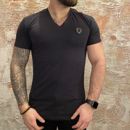 Antony Morato Vneck t-shirt deep blue