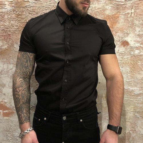 Antony Morato Shirt korte mouw black