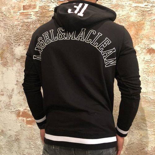 Angel&Maclean Hoodie black Amsterdam