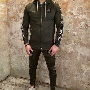 Quotrell General tracksuit compleet green