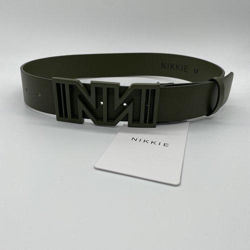 Nikkie Bliss Belt Army
