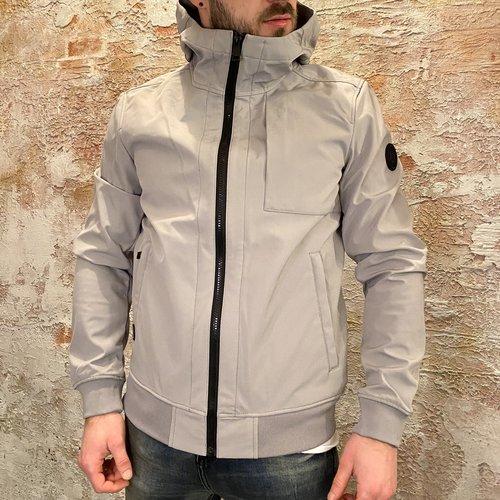 Airforce Jacket soft-shell Paloma Grey