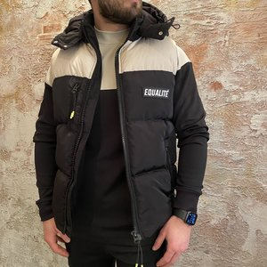 Equalite Kaleb Bodywarmer black beige