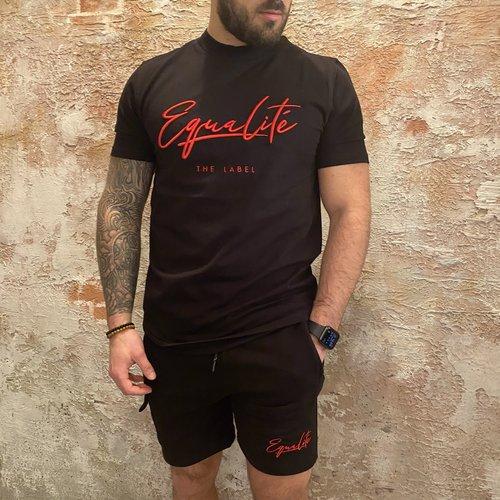 Equalite Wafi short black red