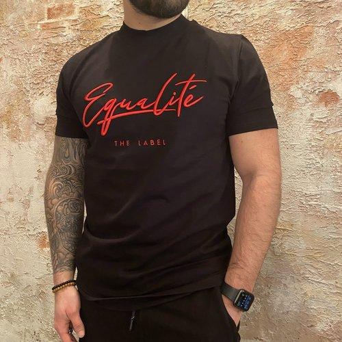 Equalite Wafi tee black red
