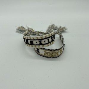 JoshV Allena Anniversary Armband Off White