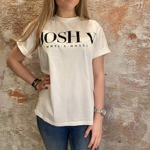 JoshV Teddy Anniversary Off White t-shirt