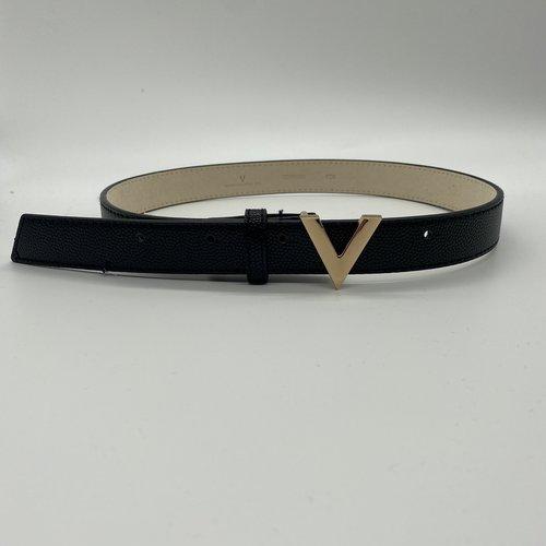 Valentino by Mario Valentino Belt gold logo