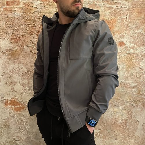 Airforce Softshell Jacket Gun Metal