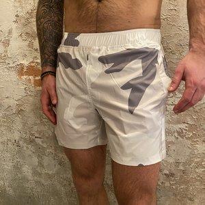 Airforce Camo Swimshort White