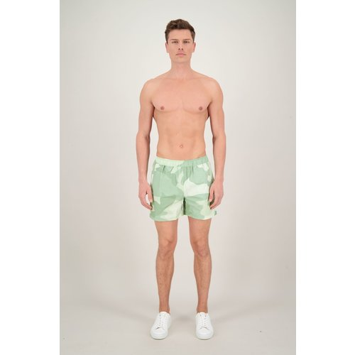 Airforce Camo Swimshort Green