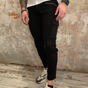 Purewhite The Jone Cargo pant black