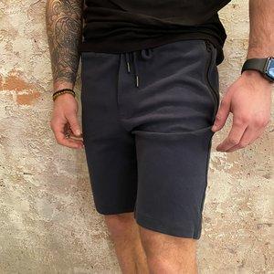 Solid Blue Short Jogger