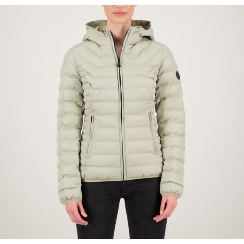 Airforce Hooded Padded Silver Sage
