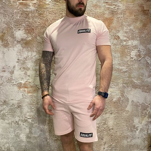 Equalite Travis tee pink