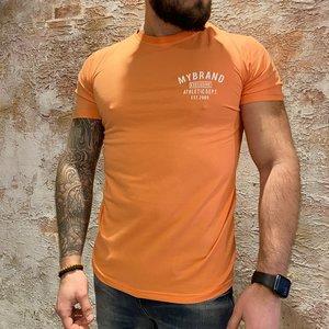 MyBrand Varsity swim t-shirt salmon