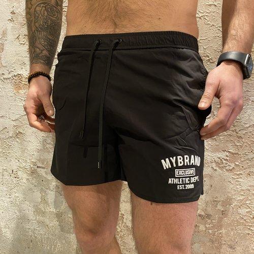 MyBrand Varsity swimshort black