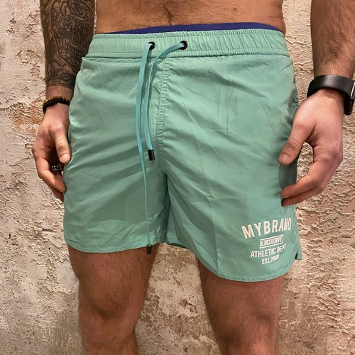 MyBrand Varsity swimshort green