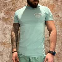 Varsity swim t-shirt green