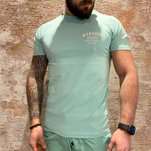 MyBrand Varsity swim t-shirt green