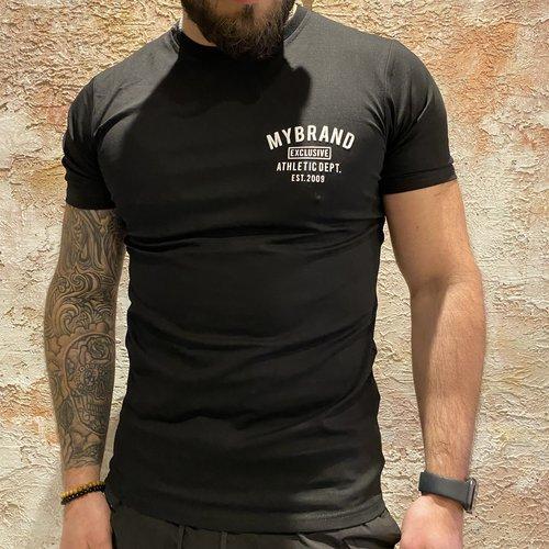 MyBrand Varsity swim t-shirt black