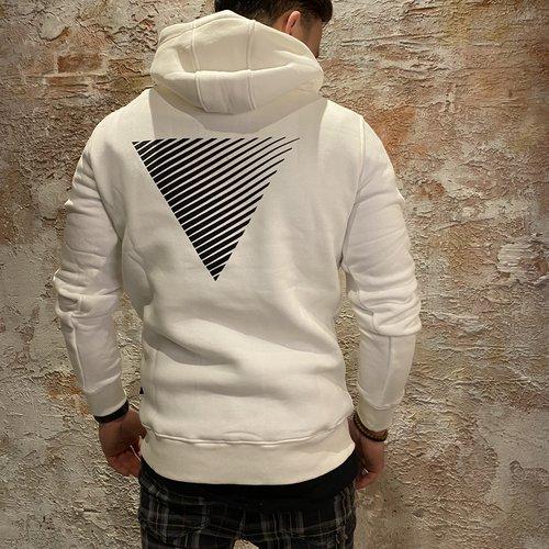 Purewhite Logo hoodie white