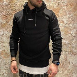 Purewhite Logo hoodie black