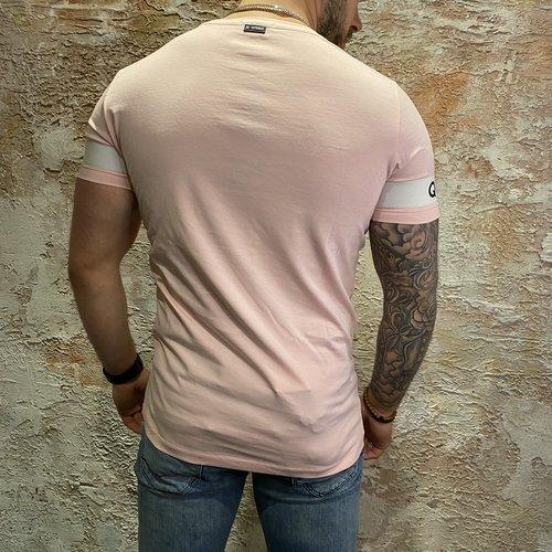 Quotrell Sergeant T-shirt Light Pink