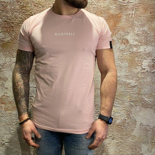 Quotrell Wing T-shirt 2.0 Light pink