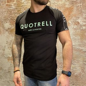 Quotrell General T-shirt Black/Light Blue